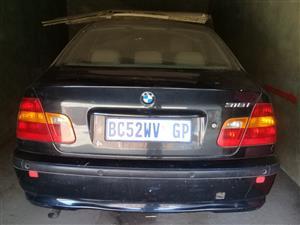 2001 BMW 3 Series sedan 320D A/T (G20)