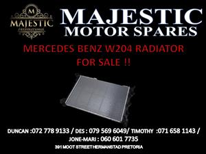 Mercedes benz w204 radiator