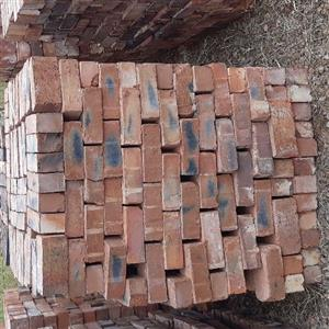 Bricks for Sale - Good prices. orders from 1 pallet of 500 bricks. Delivery available.