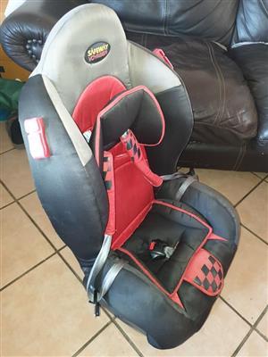 Baby/Toddler reclining car seat