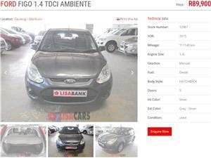 2015 Ford Figo 1.4TDCi Ambiente