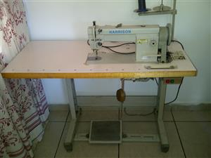 Harrison Industrial Sewing Machine