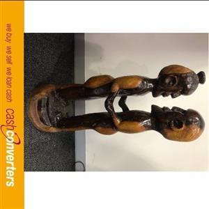 wooden statue