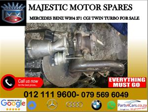 Mercedes benz W204 cgi twin turbo for sale