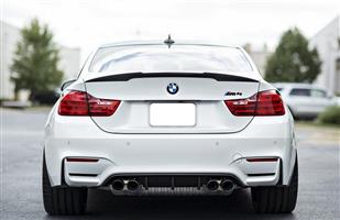 BMW M4 (F82) Rear V Style Boot Spoiler – Carbon Fiber