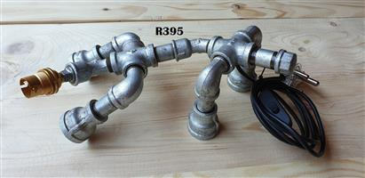 Heavy Duty Designer Pipe Lamp No 1