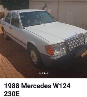 1988 Mercedes Benz 230E