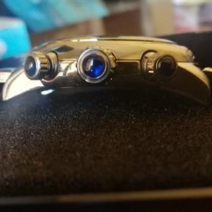 Glam rock miami womens wristwatch with bracelet band