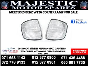 Mercedes benz w126 corner lamps for sale
