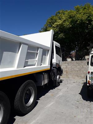10 cube tipper truck for hire