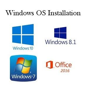 windows OS and software installation