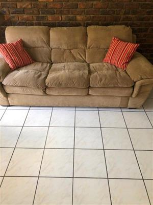 Three seater couch, very comfortable