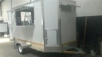 3 meters single axle newly built fully equipped mobile kitchen/food trailer for sale