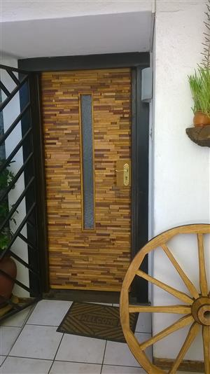 3D reclaimed wood cladding