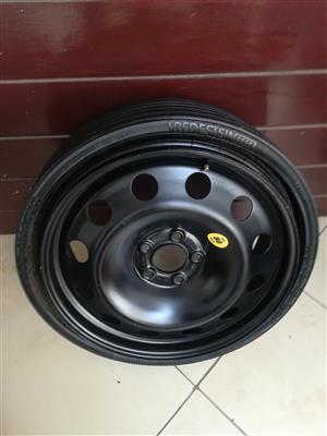 Brand New Audi Q8 Collapsible Space Saver Spare Wheel at Half Price R9800