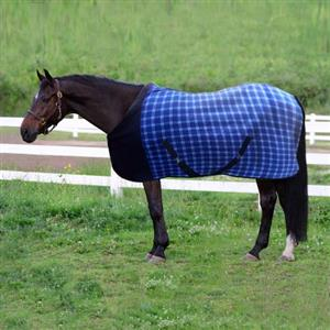 HORSE FLEECE BLANKET  - New