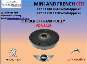 citroen c3 crank pulley for sale