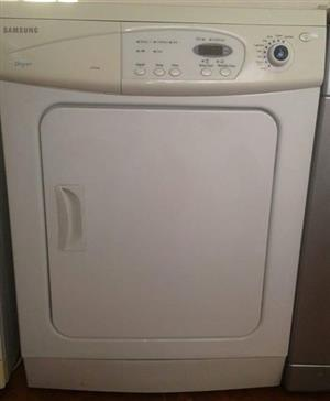 8KG Samsung White DV5008J Tumble Dryer