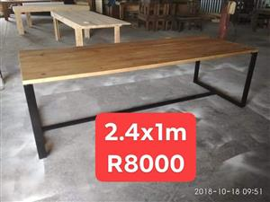 Long wooden table for sale