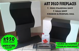 Art deco fireplaces for sale