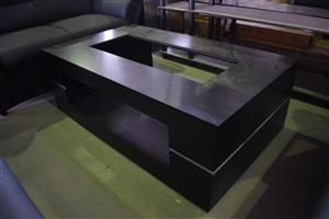 Dark wooden middle coffee table for sale