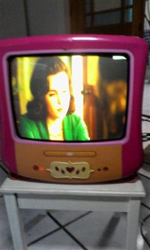 Small tv & dvd