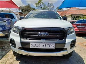 2019 Ford Ranger double cab RANGER 2.0D BI TURBO WILDTRAK 4X4 A/T P/U D/C