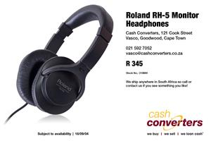 Roland RH-5 Monitor Headphones