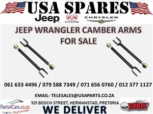 JEEP WRANGLER CAMBER ARMS FOR SALE