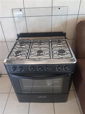 6 Plate atlas gas stove for sale