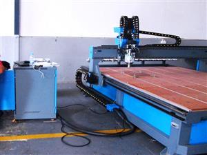 R-2030Z4V/120V EasyRoute 380V Raised Z-400 2050x3050mm Hard PVC/Bakelite Clampable Vacuum