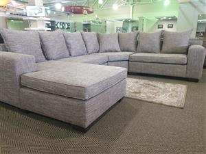 Canberra Corner Lounge Suite WAS R 12395 NOW R 9495