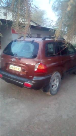 2001 Hyundai Santa FE Santa Fe 2.2CRDi 4WD
