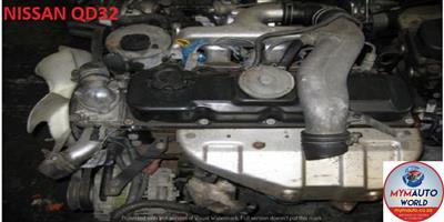 IMPORTED USED NISSAN QD32 ENGINE