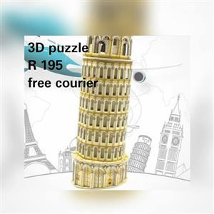3D Puzzle for sale