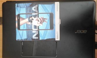Nokia 3.1 with original accessories