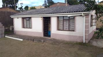 House for rent immediately at Umlazi D