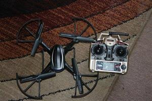 Copter drone with remote