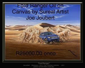 Ford Ranger oil on canvas