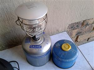 Cadac camping lamp for free