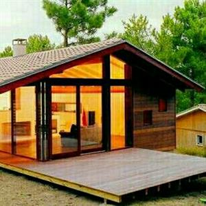 Farizan log home