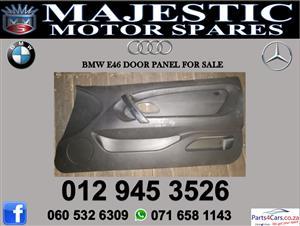 Bmw e46 door paneling for sale