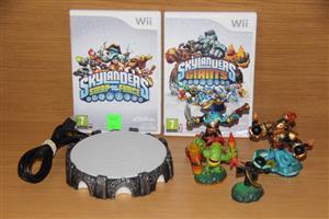 Wii Skylanders Swap force and Giants