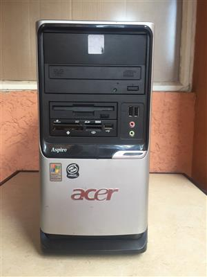 TOWER ONLY - Acer Aspire Celeron 2.80GHZ
