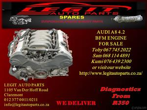 AUDI A8 4.2 BFM ENGINE FOR SALE
