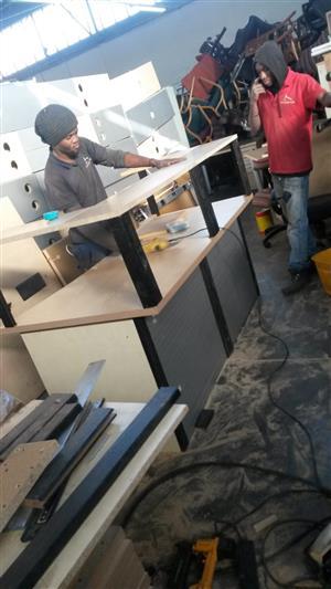 We build Reception Counters