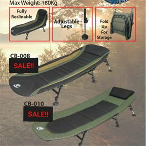 Madness!!Rough and Tough Camping Beds CB-008 - Black/Green/Brown- – 2 days only