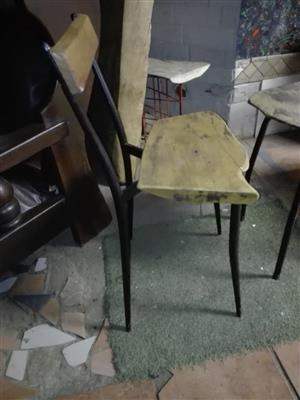 Wooden top chair for sale