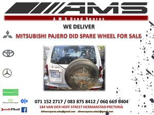 MITSUBISHI PAJERO DID SPARE WHEEL