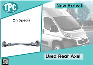 Used Rear Axel for Peugeot for sale at TPC